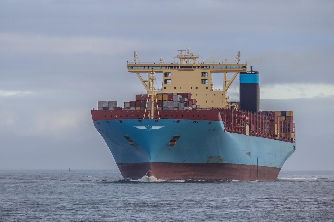 embalaje para el transporte marítimo