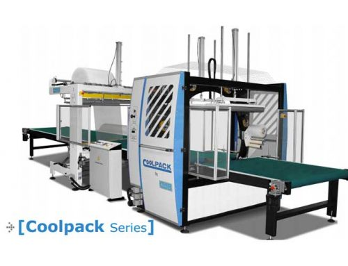 The updated COOLPACK 150 Express wrapping machine provides more advantages and benefits than ever