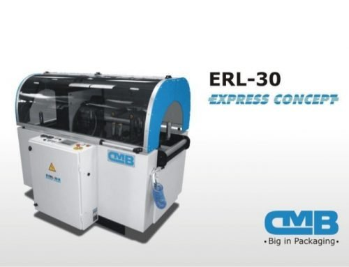 ERL-30-EXPRESS rotating crown packaging machine; the true heart of the machine